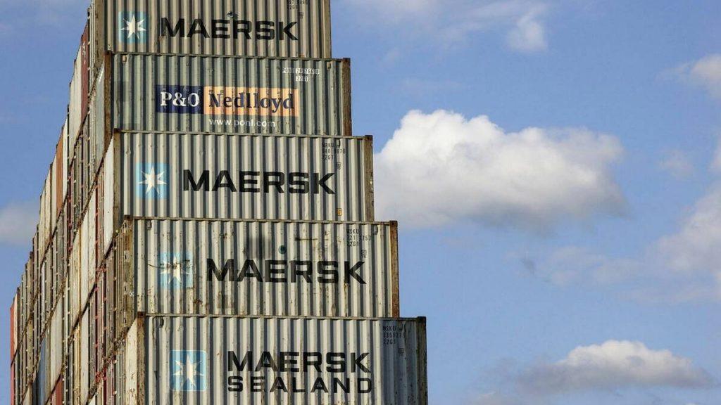 """Avviso di inversione degli utili di Maersk - """"Caso di mercato eccezionale"""""""