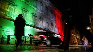 Il Senato italiano si riunisce a Palazzo Madama