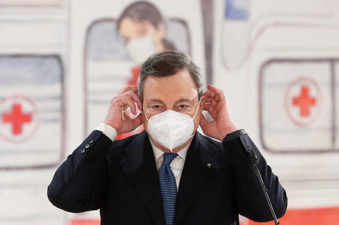 Il premier Mario Draghi.