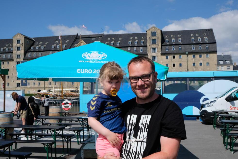 Thorkild Jensen, residente a Copenaghen, era al parco di Copenaghen quando Christian Eriksen è andato in arresto cardiaco.  dice:
