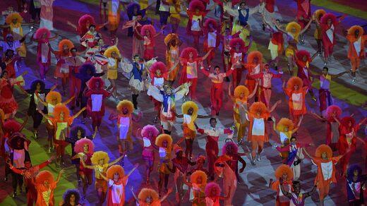 Circa 75.000 hanno segnato l'apertura delle Olimpiadi allo stadio Maracana di Rio 2016.