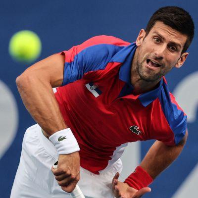 Novak Djokovic e OS.
