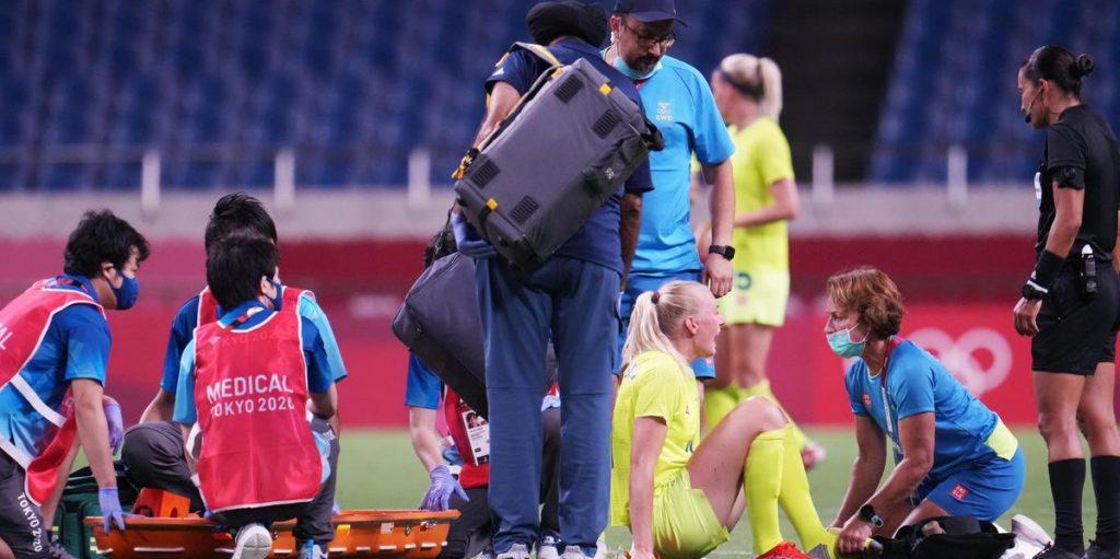 Svezia pronta per i quarti olimpici, ma l'infortunio di Plastenius preoccupa