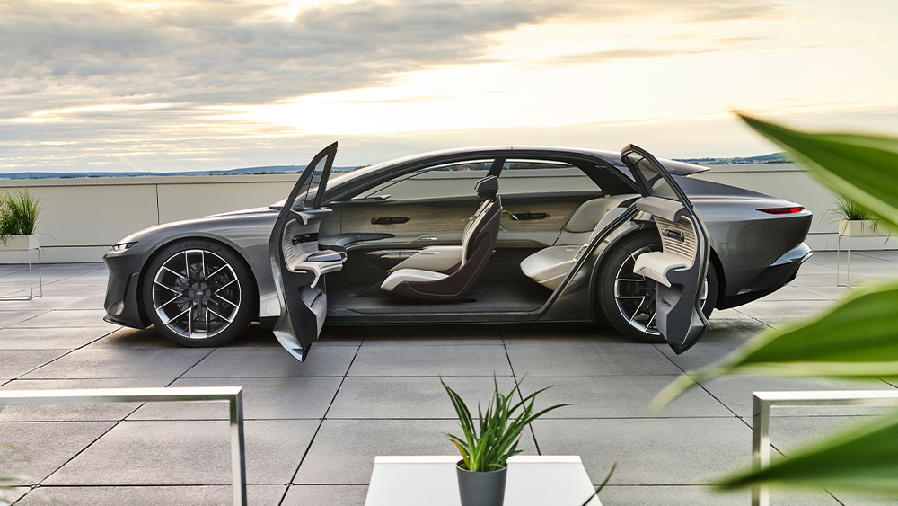 Ecco la grande visione di Audi del futuro Grandsphere