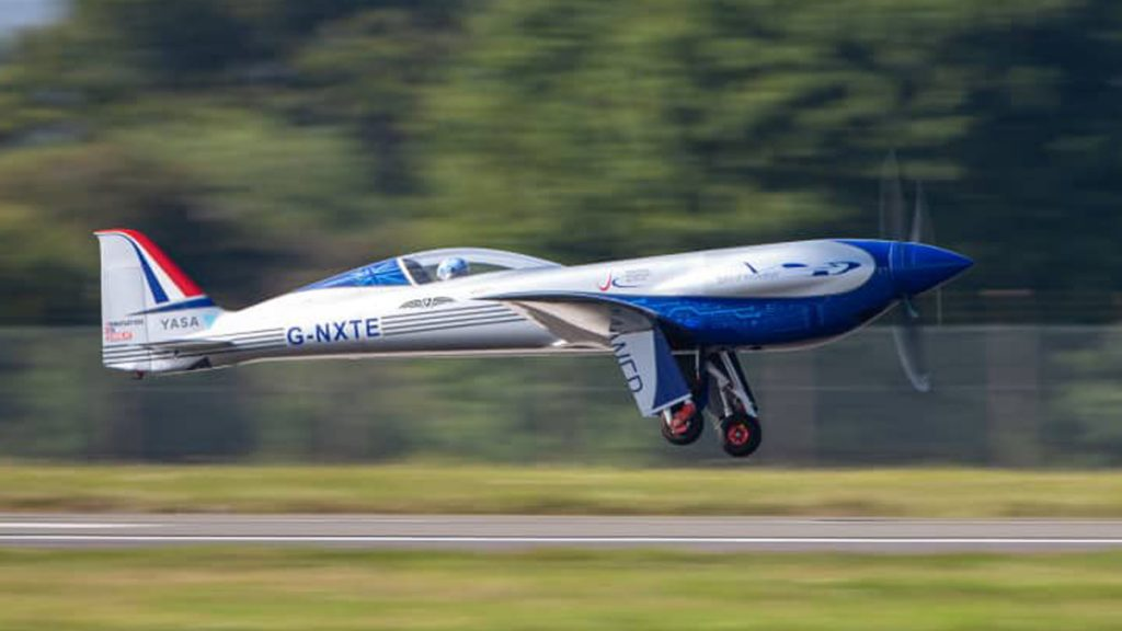 Rolls-Royce elektriska flygplan har gjort debut