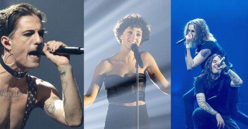 La battaglia dei giganti quando il glam rock italiano incontra la chanson francese e la Finlandia ottiene uno dei posti migliori di sempre?  Stasera Malin Slot segna i finalisti all'Eurovision