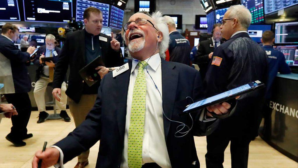 S&P 500 glädjeskutt – högsta uppgången sedan mars